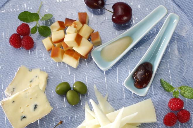 チーズとフルーツのマリアージュ